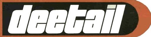 Deetail logo.