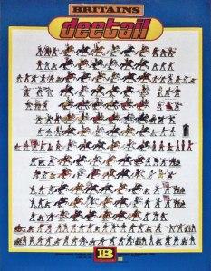 Poster showing deetail range.