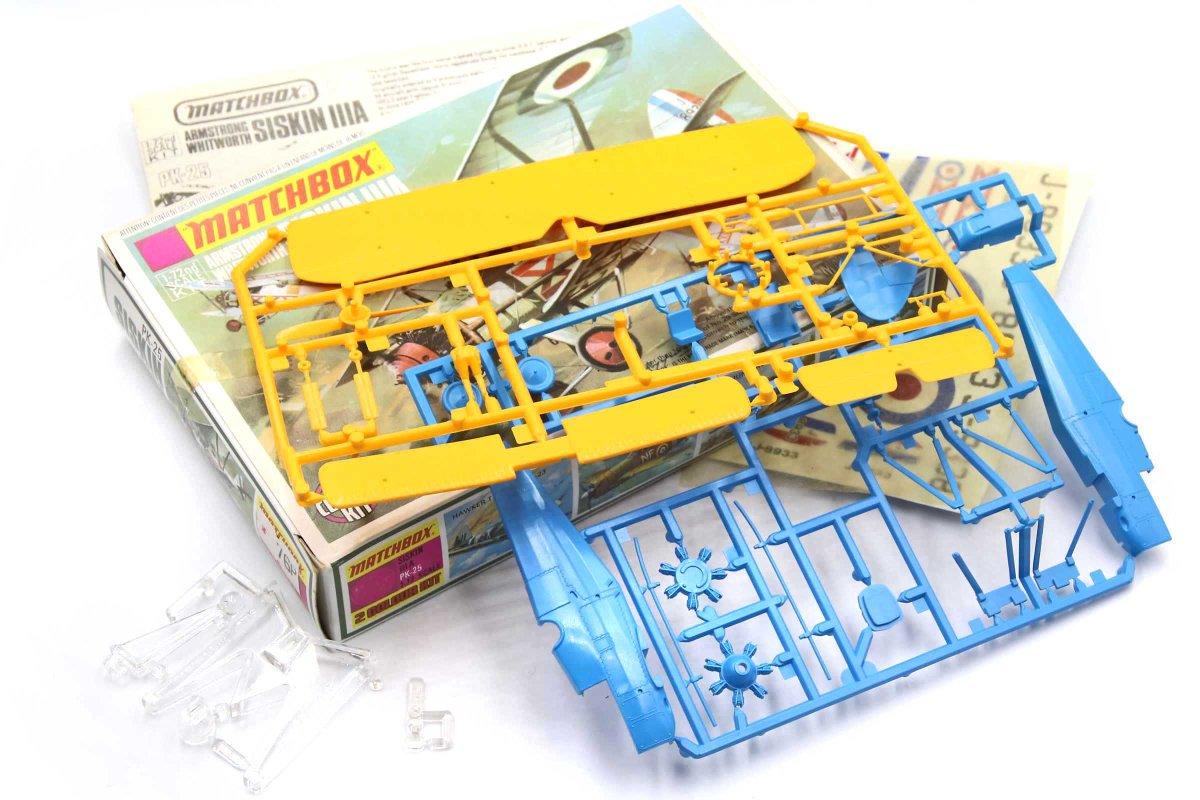 Matchbox Aircraft Kits –Colours